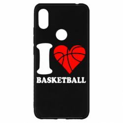 Чохол для Xiaomi Redmi S2 I love basketball