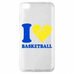 Чохол для Xiaomi Redmi Go I love basketball