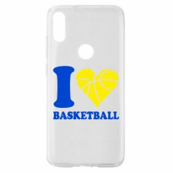 Чехол для Xiaomi Mi Play I love basketball