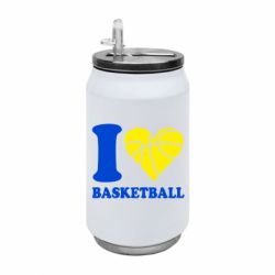 Термобанка 350ml I love basketball