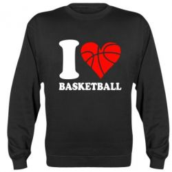 Реглан (свитшот) I love basketball