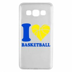 Чехол для Samsung A3 2015 I love basketball