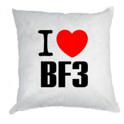 Подушка I love Battlefield 3 - FatLine