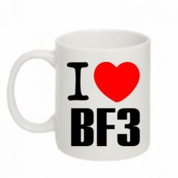 Кружка 320ml I love Battlefield 3 - FatLine