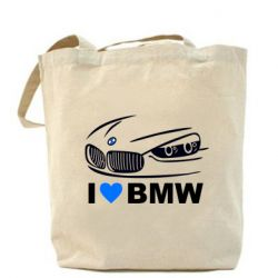Сумка I love BMW 2 - FatLine