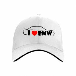 кепка I love BMW - FatLine