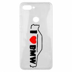 Чехол для Xiaomi Mi8 Lite I love BMW