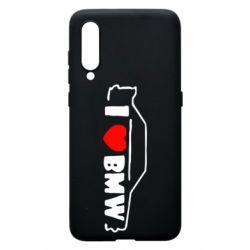 Чехол для Xiaomi Mi9 I love BMW