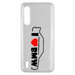 Чехол для Xiaomi Mi9 Lite I love BMW
