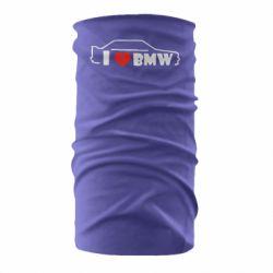 Бандана-труба I love BMW