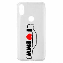 Чехол для Xiaomi Mi Play I love BMW