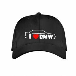 Детская кепка I love BMW - FatLine