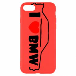Чехол для iPhone 7 I love BMW