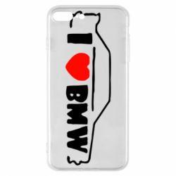 Чехол для iPhone 7 Plus I love BMW