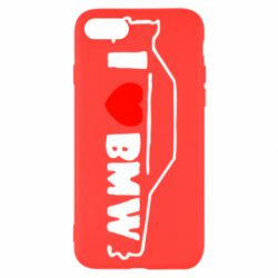 Чехол для iPhone 8 I love BMW