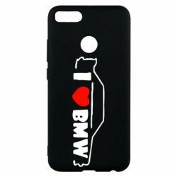 Чехол для Xiaomi Mi A1 I love BMW