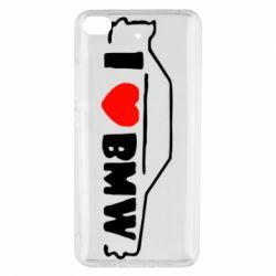 Чехол для Xiaomi Mi 5s I love BMW