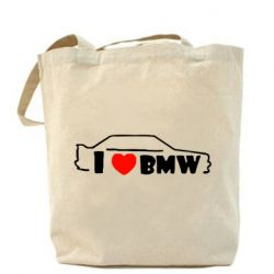Сумка I love BMW - FatLine