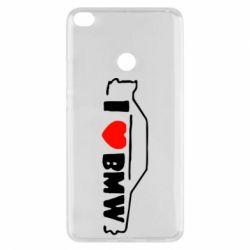 Чехол для Xiaomi Mi Max 2 I love BMW