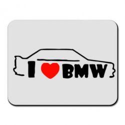 Коврик для мыши I love BMW - FatLine