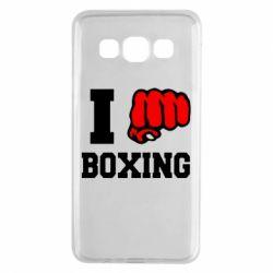 Чехол для Samsung A3 2015 I love boxing