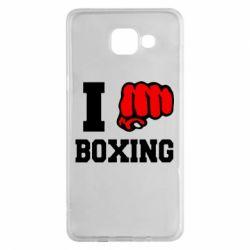 Чехол для Samsung A5 2016 I love boxing