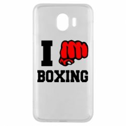 Чехол для Samsung J4 I love boxing