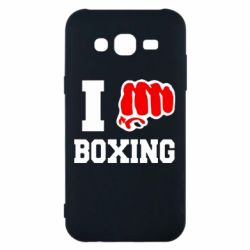 Чехол для Samsung J5 2015 I love boxing