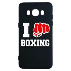Чехол для Samsung J5 2016 I love boxing