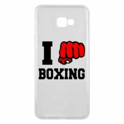 Чехол для Samsung J4 Plus 2018 I love boxing