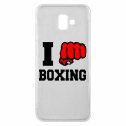 Чехол для Samsung J6 Plus 2018 I love boxing