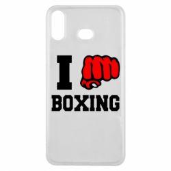 Чехол для Samsung A6s I love boxing