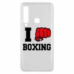 Чехол для Samsung A9 2018 I love boxing
