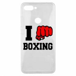 Чехол для Xiaomi Mi8 Lite I love boxing