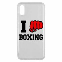 Чехол для Xiaomi Mi8 Pro I love boxing