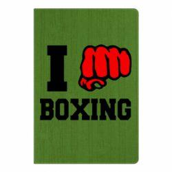 Блокнот А5 I love boxing
