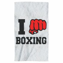 Полотенце I love boxing