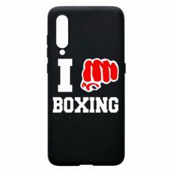 Чехол для Xiaomi Mi9 I love boxing