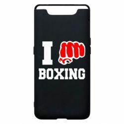 Чехол для Samsung A80 I love boxing