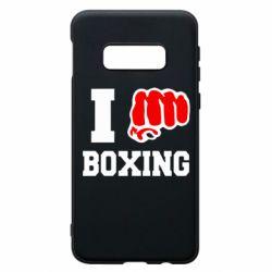 Чехол для Samsung S10e I love boxing