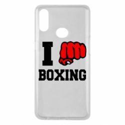 Чехол для Samsung A10s I love boxing