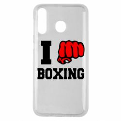 Чехол для Samsung M30 I love boxing