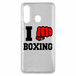 Чехол для Samsung M40 I love boxing