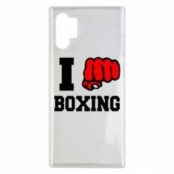 Чехол для Samsung Note 10 Plus I love boxing