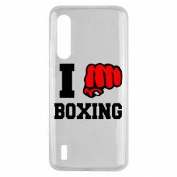 Чехол для Xiaomi Mi9 Lite I love boxing