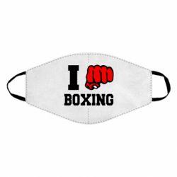 Маска для лица I love boxing