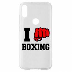 Чехол для Xiaomi Mi Play I love boxing