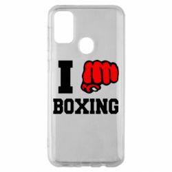 Чехол для Samsung M30s I love boxing
