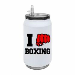 Термобанка 350ml I love boxing