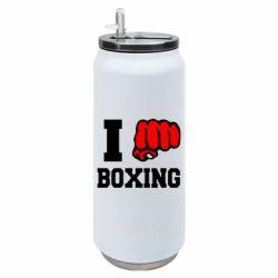 Термобанка 500ml I love boxing